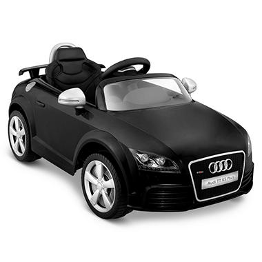 Audi TT RS One-Seater 6-Volt Powered Ride-On (Black)