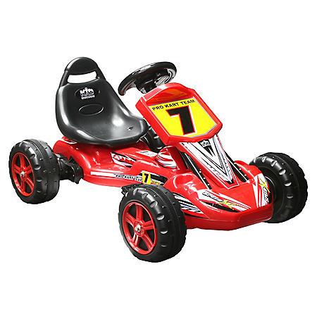 6V Red Ride-on Pro Kart