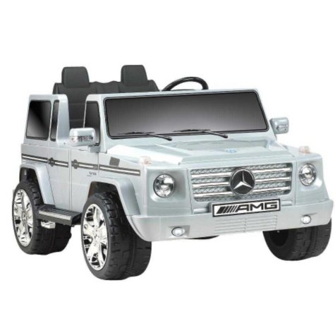 12V Mercedes Benz G55 AMG Ride-On - Silver