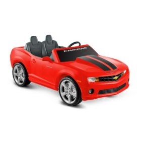 12V Red Chevrolet Ride-on Racing Camaro