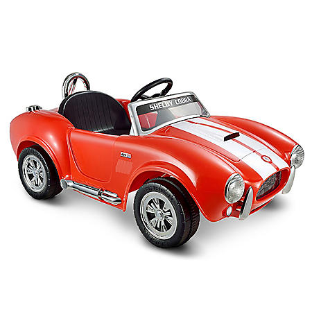 12V Shelby Cobra One Seater in Red