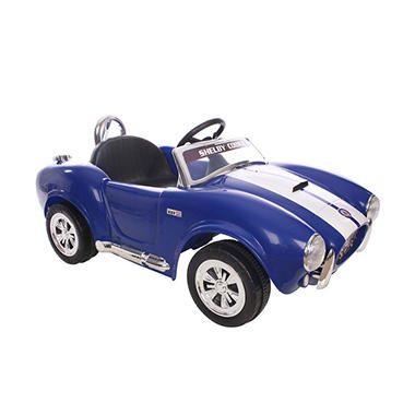 6V Shelby Cobra One Seater in Blue