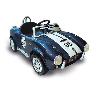 Kid Motorz Shelby Cobra in Blue 12V, Limited Edition