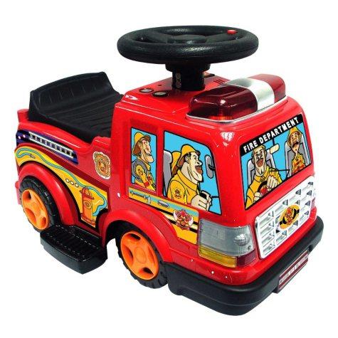 6V Ride-On Fire Engine