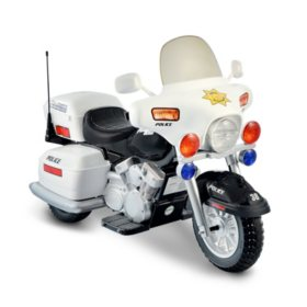 12V Ride-On Police Motorcycle
