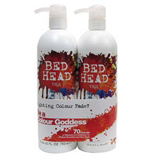 TIGI Bed Head Shampoo/Conditioner, Colour Goddess or Dumb Blonde