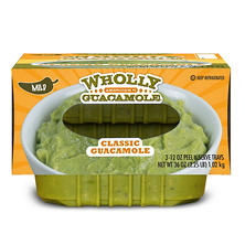 Wholly Guacamole Classic Guacamole, Mild (12 oz. trays, 3 ct.)
