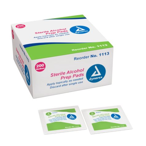 Alcohol Prep Pads - Sterile - 2,000 ct.