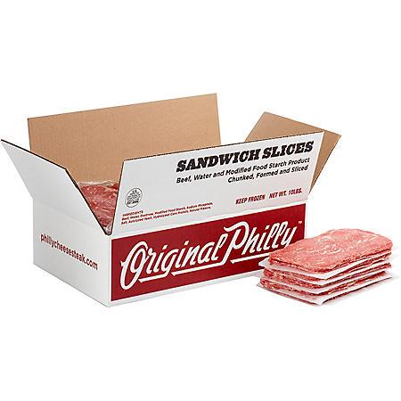 Seasoned Beef Sandwich Slices - 10.6 ozs.