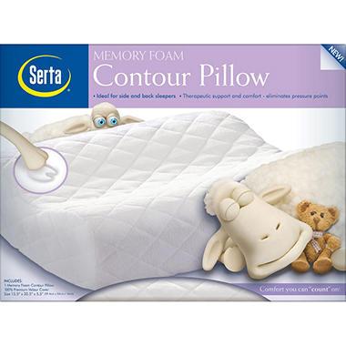 serta contour pillow