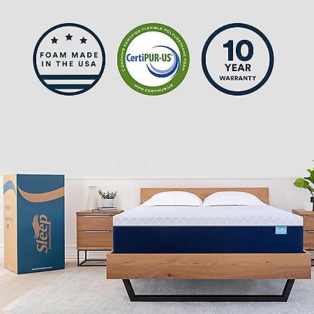 "Sleep Innovations 14"" Memory Foam Full Mattress"