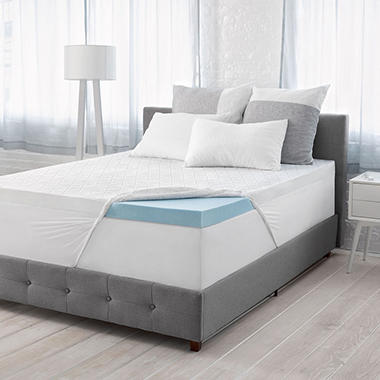 Serta Calm 3 Gel Memory Foam Mattress Topper Various Sizes