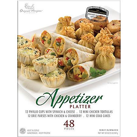 Gourmet Appetizer Platter from Original Rangoon