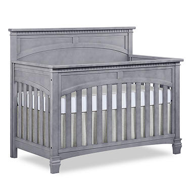 cribs crib set ip mattress afg convertible sams and club guardrail img espresso with in size a lia piece
