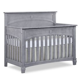 Evolur Santa Fe 5 in 1 Convertible Crib, Storm Gray