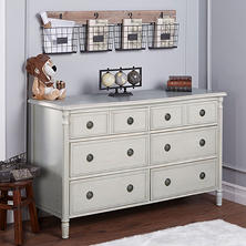 Evolur Julienne 6-Drawer Double Dresser (Choose Your Color)