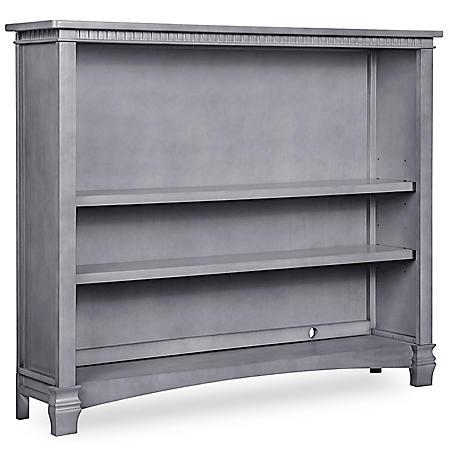 Evolur Santa Fe Bookcase, Storm Gray