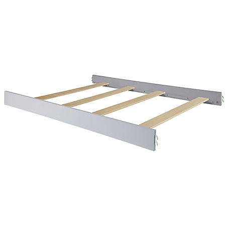 Evolur Aurora Full-Size Bed Rail, Akoya Gray Pearl