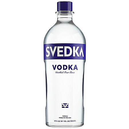 Svedka Swedish Imported Vodka (1.75 L)
