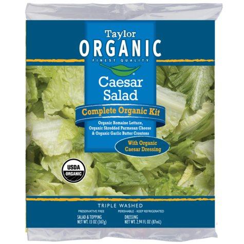 Taylor Farms Organic Caesar Salad Kit