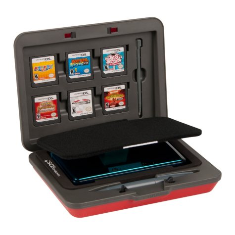 PowerA Hard Case-Red  for the 3DS