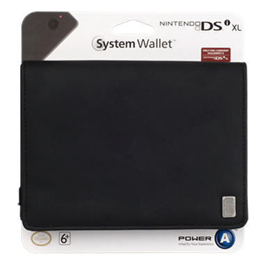 Power A - Black Wallet - for the DSi XL