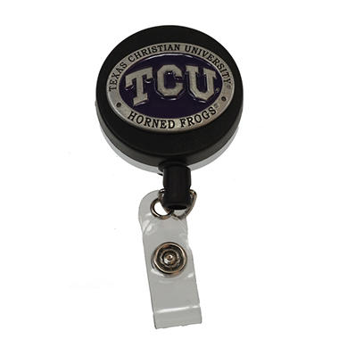 Texas Christian University Pewter Badge Reel