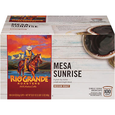 Rio Grande Roasters Mesa Sunrise (100 single-serve cups)