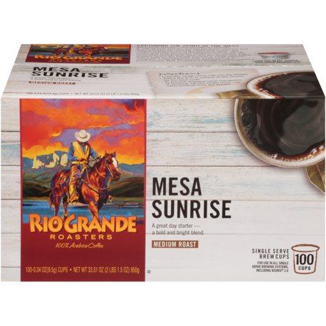 Rio Grande Roasters Mesa Sunrise (100 single-serve cups)