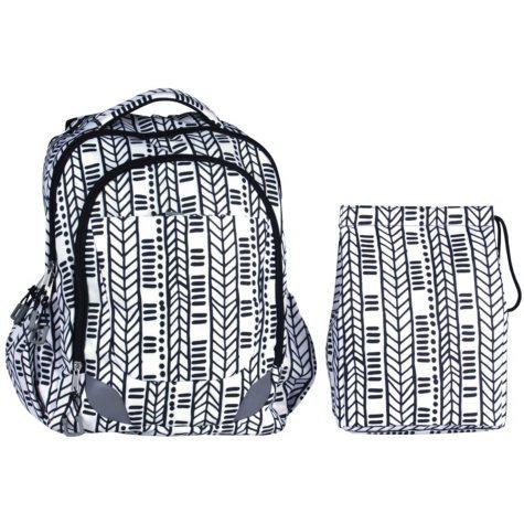 Crckt Kids' Backpack & Lunch Kit Set (Choose Print)