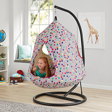The Hangout Pod Kids Hanging Tent Sam S Club