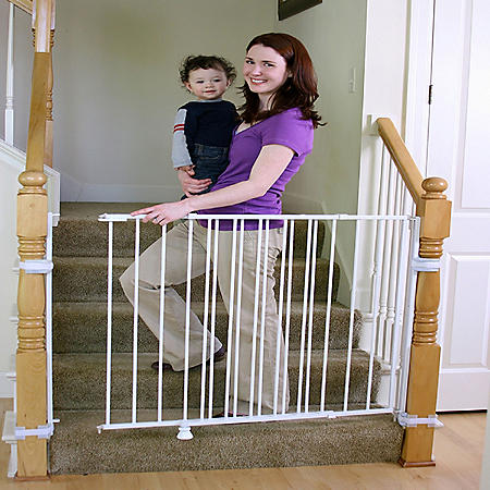 "Regalo Top of Stairs Extra Tall Baby Gate, Adjustable 34"" -55"""