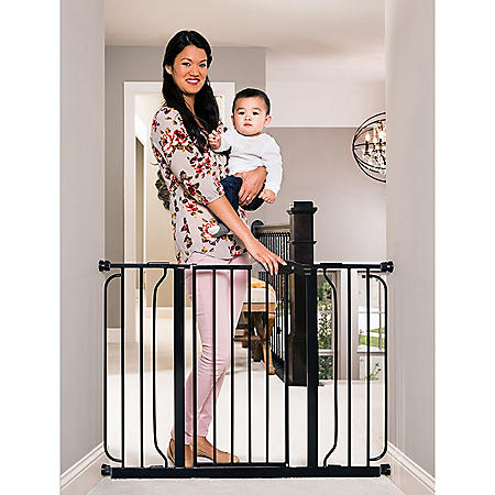"""Regalo Easy Step Extra Wide Baby Gate, Adjustable 29"""" -49"""" (Choose Your Color)"""