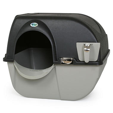 Omega Paw Elite Roll 'n Clean Self-Cleaning Litter Box (Large)