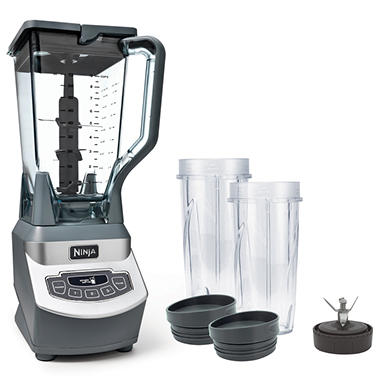 Ninja Professional Blender & Nutri Ninja Cups - Sam's Club