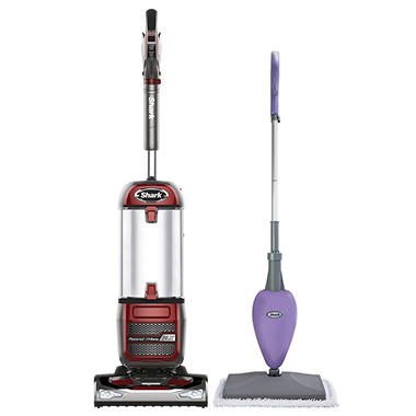 best seller shark navigator nv585 powered liftaway vacuum with bonus steam mop - Shark Vacuum Cleaners