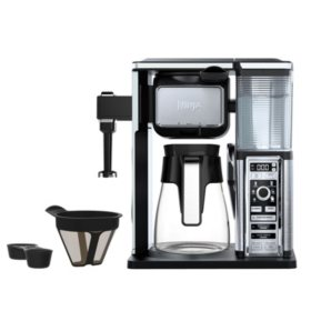 Ninja Carafe Coffee Bar System with Single Serve