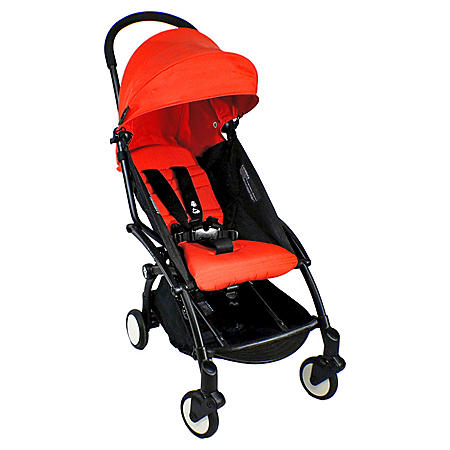 Babyzen YOYO + 6+ Black Stroller, Seat and Canopy (Choose Your Color)