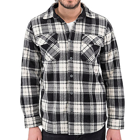 Boston Traders Bonded Polar Shirt Jacket
