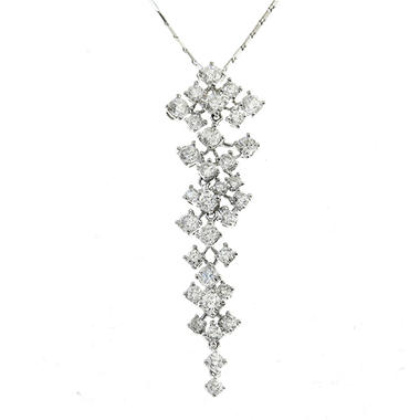 1.95 ct. t.w. Diamond Cascade Necklace (H-I, SI2)