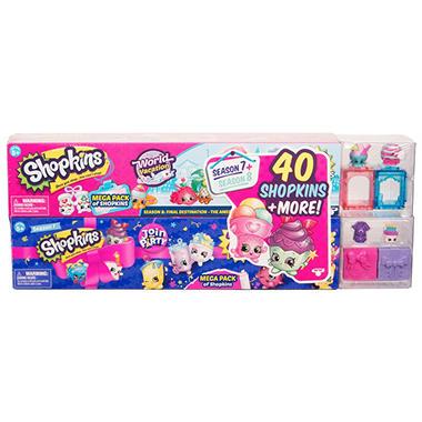 Shopkins Mega Pack Bundle Of 2 Season 7 Party And 8 World Vacation 40