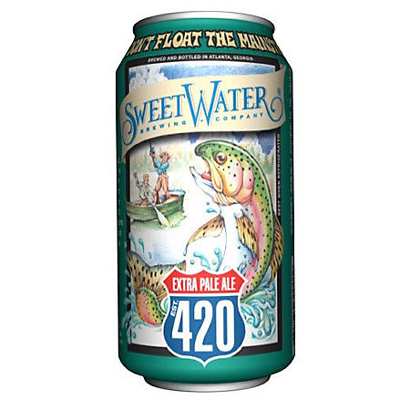 SweetWater 420 Extra Pale Ale (12 fl. oz. can, 12 pk.)