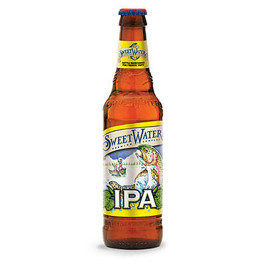 SweetWater India Pale Ale (12 fl. oz. bottle, 12 pk.)