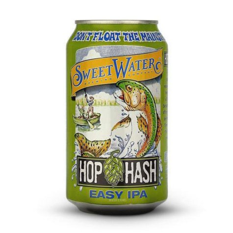 Sweet Water Hop Hash Easy IPA (12 fl. oz. can, 15 pk.)