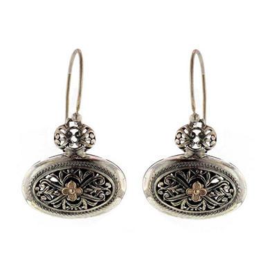 Sterling Silver 14k Gold Earring Sam S Club