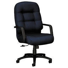 HON 2090 Pillow- Soft High- Back Executive Swivel/Tilt Chair, Mariner