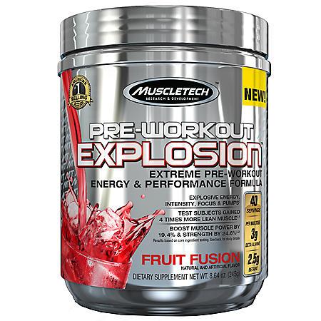 MuscleTech Pre-Workout Explosion, Fruit Fusion (8.64 oz.)