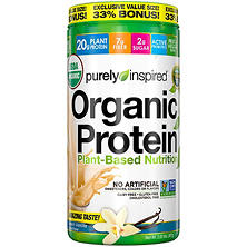 Purely Inspired Organic Protein 100% Plant-Based Nutritional Shake