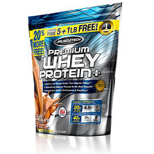 MuscleTech Premium 100% Whey Protein, Chocolate (6 lbs.)