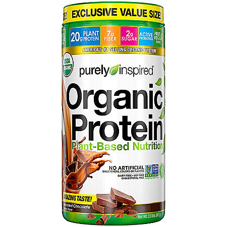 Purely Inspired Organic Protein 100% Plant-Based Nutritional Shake (2 Lbs.)